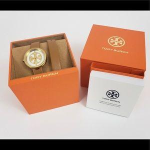 NWT🎉Tory Burch Reva Double-Wrap Watch 28mm